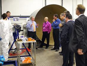 Demonstration combined with theory at Belzona facilities